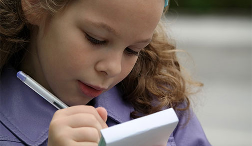 Learning to write (ages 3-5)